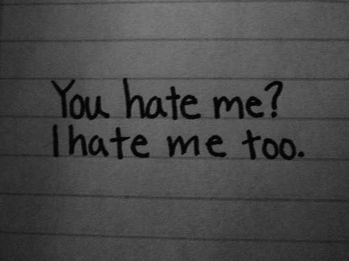 Everybody Hates Me Quotes: Theskinnyme4ever - Thinspiration